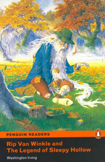 Picture of RIP VAN WINKLE AND THE LEGEND OF SLEEPY HOLLOW - PENGUIN READERS LEVEL 1 - BOOK WITH AUDIO CD