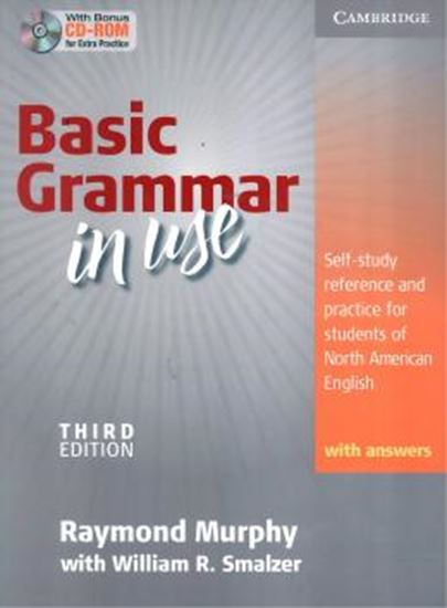 Picture of BASIC GRAMMAR IN USE WITH ANSWERS AND CD-ROM - 3RD ED