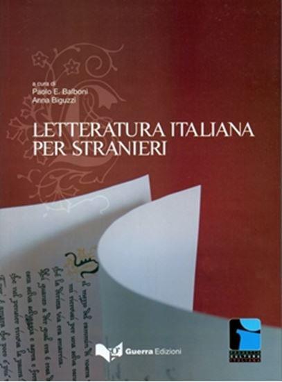 Picture of LETTERATURA ITALIANA PER STRANIERI