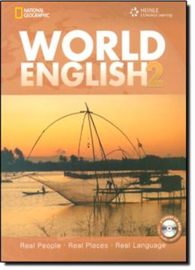 Picture of WORLD ENGLISH 2 STUDENT BOOK  WITH CD-ROM