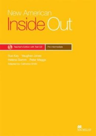 Picture of NEW AMERICAN INSIDE OUT PRE-INTERMEDIATE - TEACHER´S BOOK