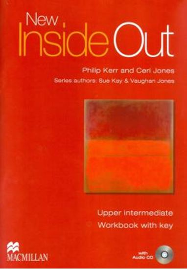 Picture of NEW INSIDE OUT UPPER INTERMEDIATE WORKBOOK WITH KEY AND AUDIO CD