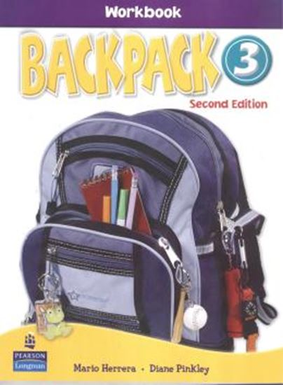 Picture of BACKPACK 3 WORKBOOK WITH AUDIO CD SECOND EDITION