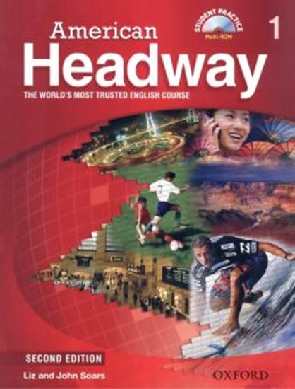 Picture of AMERICAN HEADWAY 1 - STUDENT´S BOOK WITH MULTIROM AND VIDEO - 2ND ED