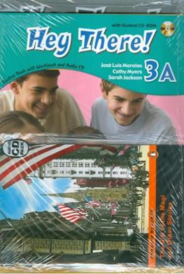 Picture of HEY THERE! 3A EXTRA ACTIVITIES SB PACK CD
