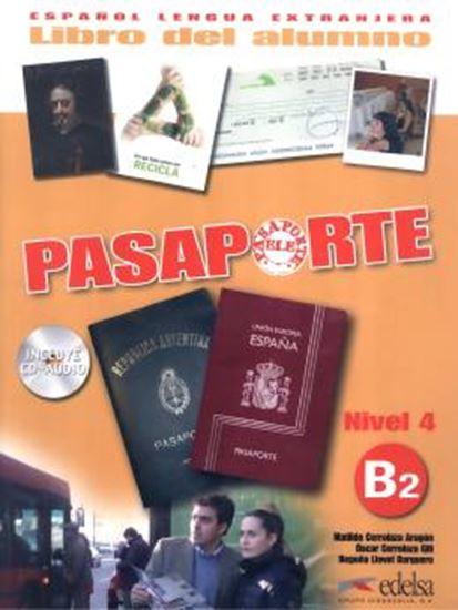 Picture of PASAPORTE 4 - LIBRO DEL ALUMNO B2 +  CD-AUDIO