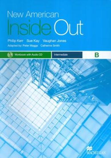 Picture of NEW AMERICAN INSIDE OUT INTERMEDIATE B - WORKBOOK WITH AUDIO CD