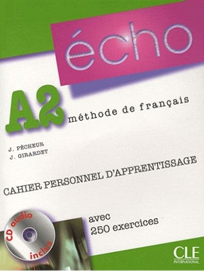 Picture of ECHO A2 CAHIER PERSONNEL D´APPRENTISSAGE (NOUVELLE VERSION) - CD AUDIO + CORRIGES