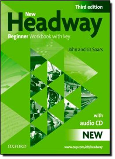 Picture of NEW HEADWAY BEGINNER WORKBOOK WITH KEY- 3RD EDITION