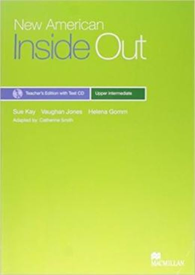 Picture of NEW AMERICAN INSIDE OUT TEACHERS BOOK W/TEST CD PACK-UPPER INTERMEDIATE