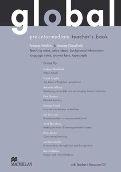 Picture of GLOBAL PRE-INTERMEDIATE - TEACHER´S BOOK AND RESOURCE