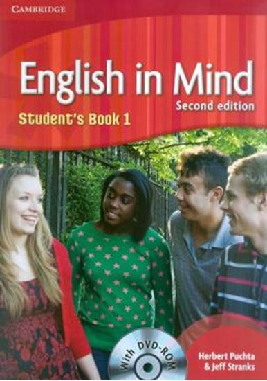 Picture of ENGLISH IN MIND 1 - STUDENT´S BOOK WITH DVD-ROM - SECOND EDITION