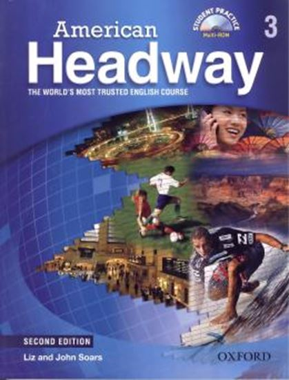Picture of AMERICAN HEADWAY 3 - STUDENT BOOK WITH STUDENT PRACTICE MULTIROM - SECOND EDITION