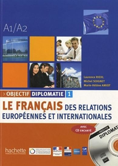 Picture of OBJECTIF DIPLOMATIE A1/A2  - N/E (LIVRE+CD)