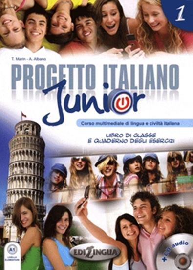 Picture of PROGETTO ITALIANO JUNIOR 1 - LIBRO DI CLASSE & QUADERNO DEGLI ESERCIZI + CD AUDIO (A1)