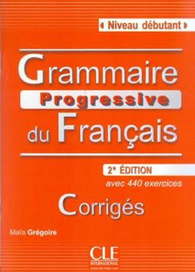 Picture of GRAMMAIRE PROGRESSIVE DU FR. DEBUTANT - N/E CORRIGES 2°ED.