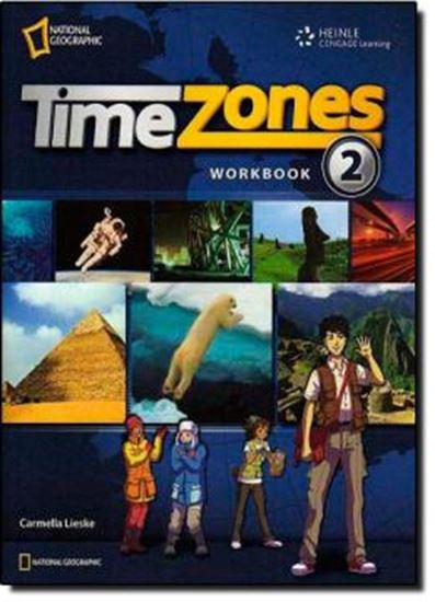Picture of TIME ZONES 2 WORKBOOK