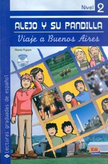 Picture of ALEJO Y SU PANDILLA A1-A2 LIBRO 2: EN BUENOS AIRES INCLUYE CD