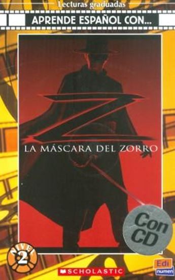 Picture of MASCARA DEL ZORRO CON CD