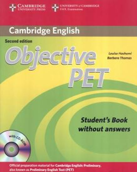 Picture of OBJECTIVE PET SB WITHOUT ANSWERS AND CD-ROM - 2ND ED