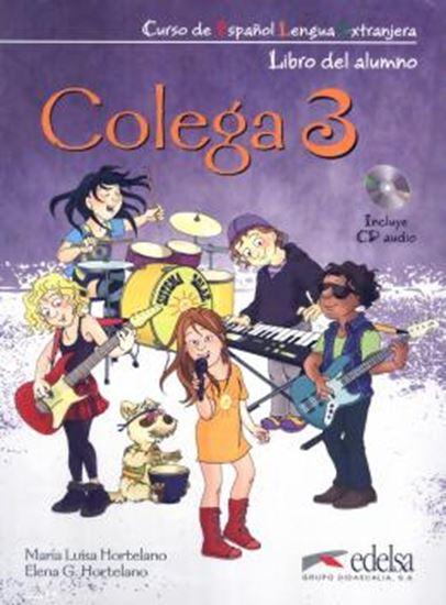 Picture of COLEGA 3 - LIBRO DEL ALUMNO + EJERCICIOS + CD AUDIO