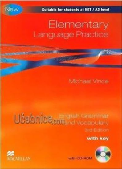 Picture of ELEMENTARY LANGUAGE PRACTICE - WITH KEY AND CD-ROM - THIRD EDITION
