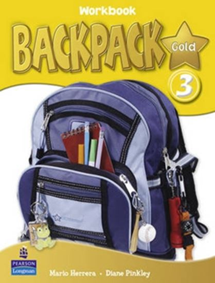 Picture of BACKPACK GOLD 3 WORKBOOK WITH CD