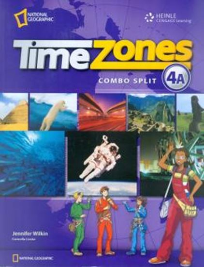 Picture of TIME ZONES 4A STUDENT´S BOOK WITH MULTI-ROM