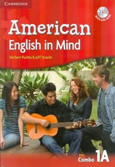 Picture of AMERICAN ENGLISH IN MIND 1 A SB/WB/DVD ROM