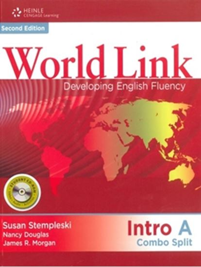 Picture of WORLD LINK INTRO A COMBO SPLIT WITH STUDENT CD-ROM - 2ND EDITION