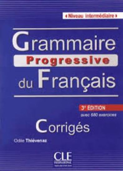 Picture of GRAMMAIRE PROGRESSIVE DU FR. INTER. - CORRIGE - 3E EDITION