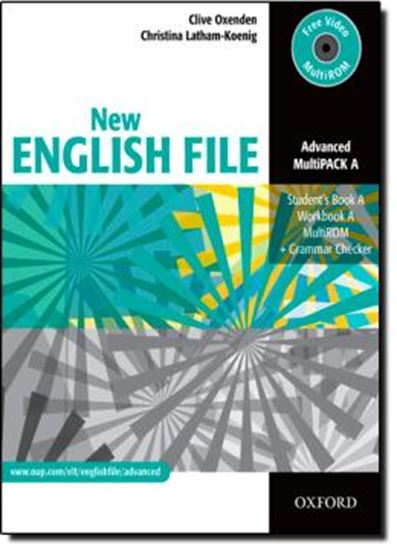 Picture of NEW ENGLISH FILE ADVANCED MULTIPACK A