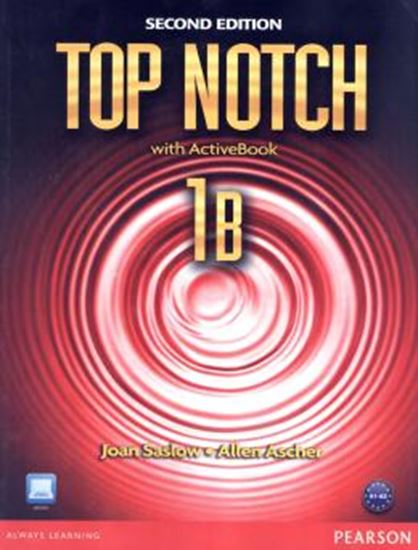 Picture of TOP NOTCH 1B WITH ACTIVEBOOK AND CD-ROM - SECOND EDITION