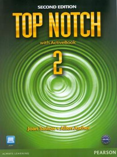 Picture of TOP NOTCH 2E 2 SB W/ ACT BK CD-ROM - SECOND EDITION