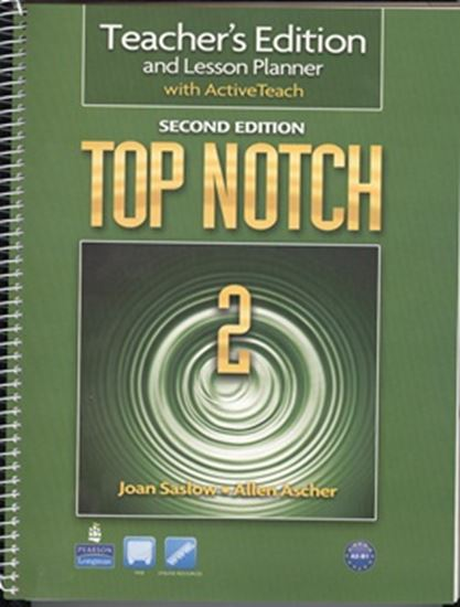 Picture of TOP NOTCH 2 TB WITH ACTIVE TEACH CD-ROM - 2ND ED
