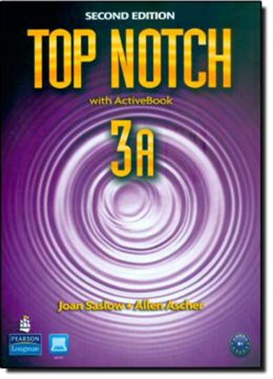 Picture of TOP NOTCH 3A SB/WB WITH ACTIVE BK CD-ROM - SECOND EDITION