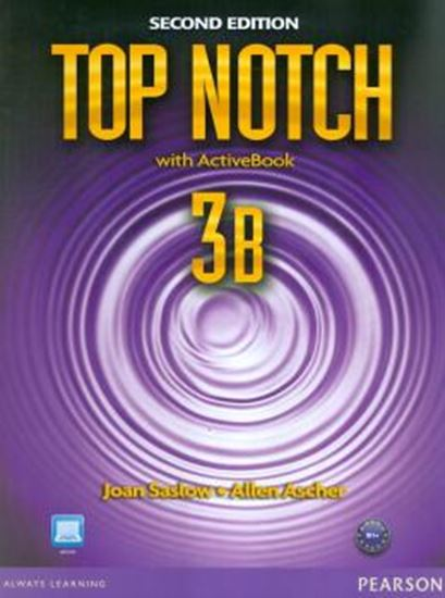 Picture of TOP NOTCH 3B SB/WB W/ACTBK CD-ROM - 2ND ED