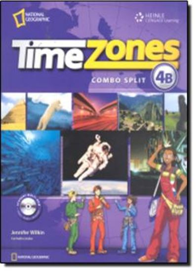 Picture of TIME ZONES 4B STUDENT´S BOOK COMBO SPLIT