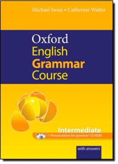 Picture of OXFORD ENGLISH GRAMMAR COURSE INTERMEDIATE - W CD-ROM AND KEY