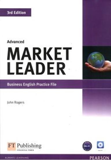 Picture of MARKET LEADER ADVANCED PRACTICE FILE - 3RD ED - WITH AUDIO CD