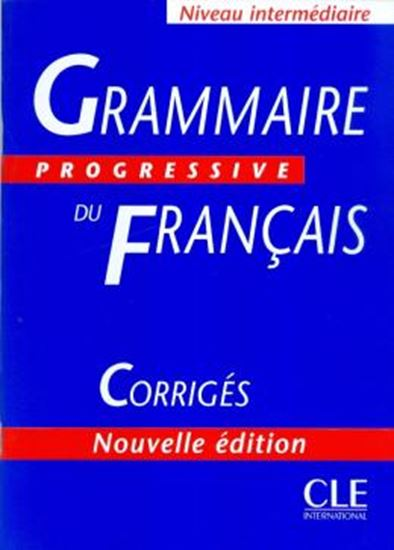 Picture of GRAMMAIRE PROGRESSIVE DU FRANCAIS INTERMEDIAIRE-CORRIGES