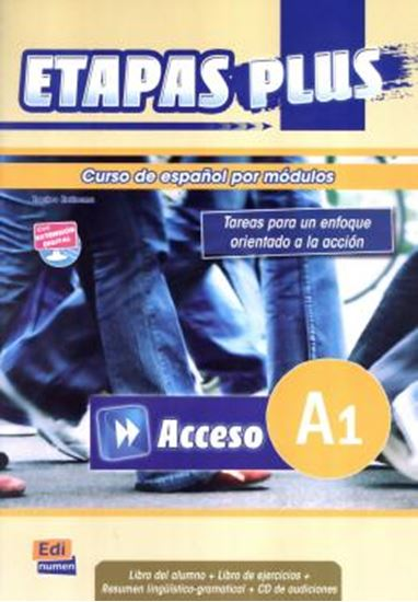 Picture of ETAPAS PLUS A1 ACCESO - LIBRO DEL ALUMNO