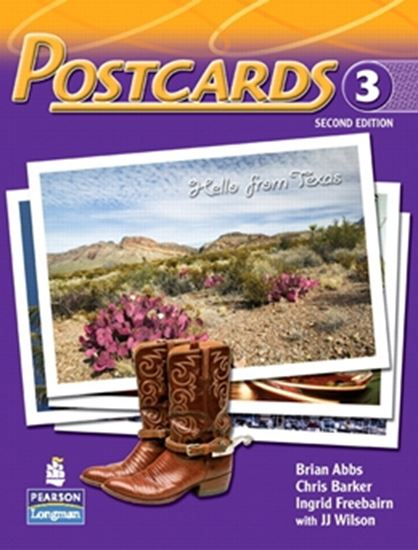 Picture of POSTCARDS 3 SB WITH CD -  SECOND EDITION