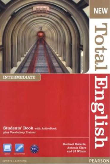 Picture of NEW TOTAL ENGLISH INTERMADITE STUDENT BOOK WITH ACTIVE BOOK CD-ROM PACK