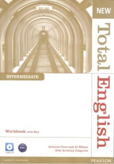 Picture of NEW TOTAL ENGLISH INTERMEDIATE WORK BOOK WITH KEY & AUD CD PACK