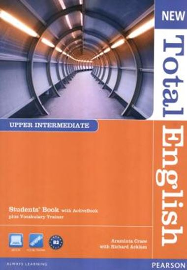 Picture of NEW TOTAL ENGLISH UPPER INTERMEDIATE STUDENT BOOK WITHACT BKCD-ROMPACK