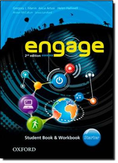 Picture of ENGAGE STARTER STUDENT BOOK AND WORKBOOK WITH MULTIROM - 2ND EDITION
