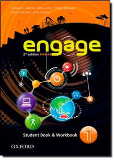 Picture of ENGAGE 1 - STUDENT BOOK AND WORKBOOK WITH MULTIROM - SECOND EDITION