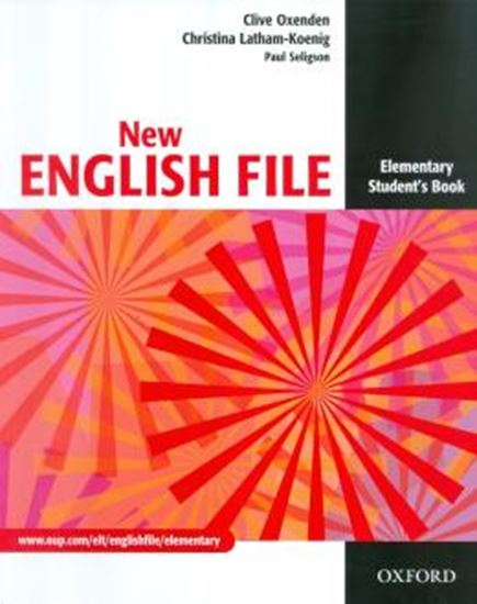 Picture of NEW ENGLISH FILE ELEMENTARY STUDENTS BOOK