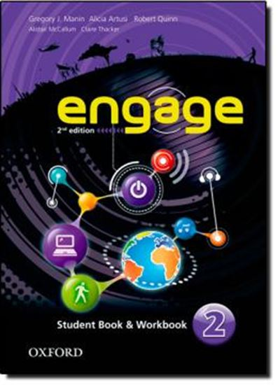 Picture of ENGAGE 2 - STUDENT BOOK AND WORKBOOK WITH MULTIROM - SECOND EDITION